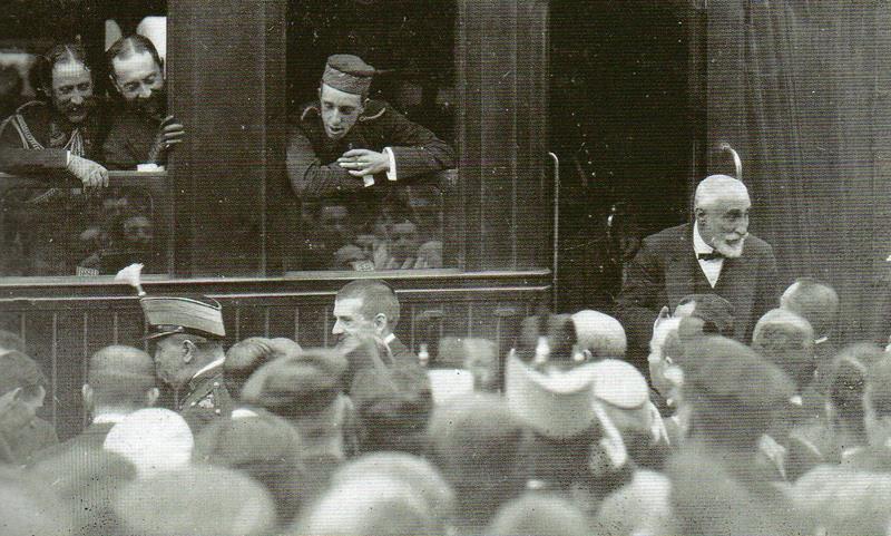 Alfons XIII i Maur a Sabadell 1904