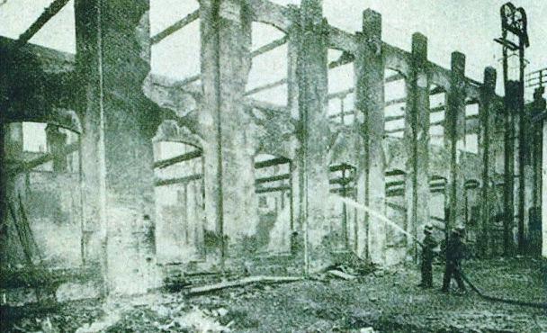 Incendi Vapor Turull Sabadell 5 febrer 1911