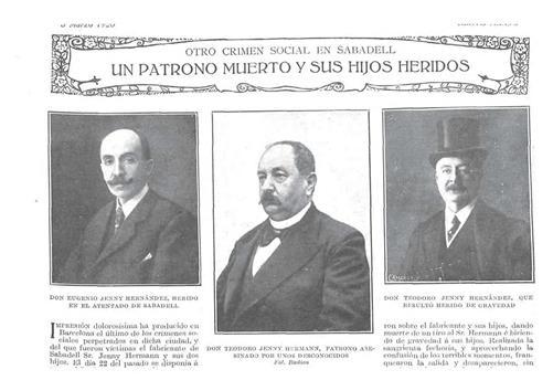 1920 empresari Jenny mort a Sabadell